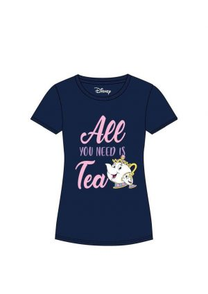 The Beauty and the Beast Girlie T-Shirt Tot el que necessites és el te