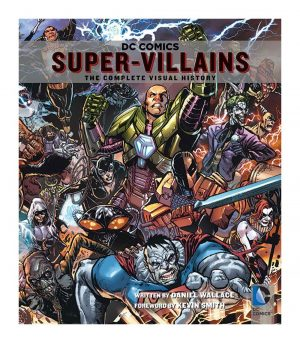 DC Comics Artbook Super-Villains *Englische Version*
