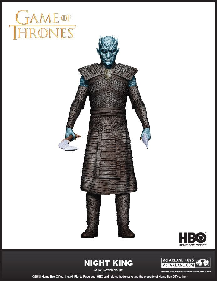 Game of Thrones Actionfigur The Night King 18 cm