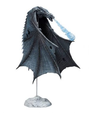 Game of Thrones Actionfigur Viserion (Ice Dragon) 23 cm