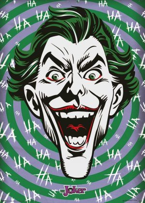 DC Comics Metallic Poster Set Joker HaHaHa 50 x 70 cm (5)