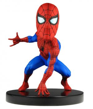 Marvel Classic Knocker Head Extreme Bobble-Head Figure Spider-Man 13 cm