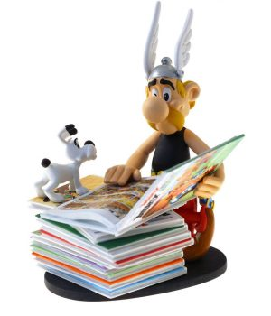 Asterix Collectoys Statue Asterix s kupom knjig 2nd Edition 23 cm