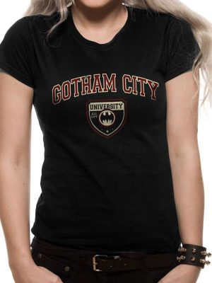 Batman Girlie T-Shirt Gotham City University