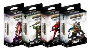 Warhammer Age of Sigmar: Champions Wave 1 Kampagnendecks Sortiment (8) deutsch