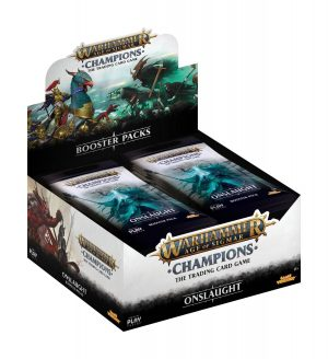 Warhammer Age of Sigmar: Champions Wave 2: Onslaught Booster Display (24) englisch