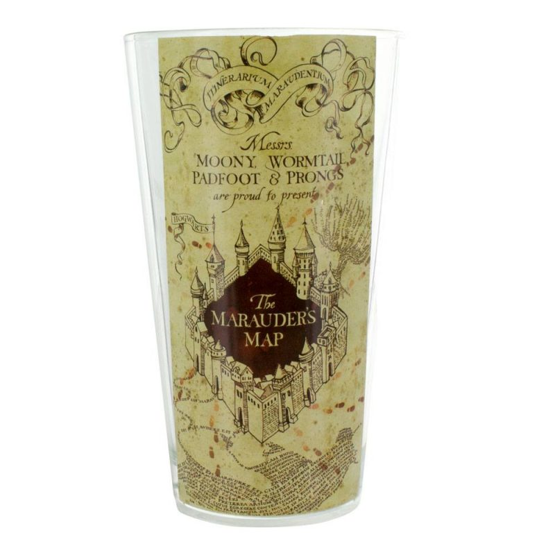 Harry Potter Glas Marauders Map