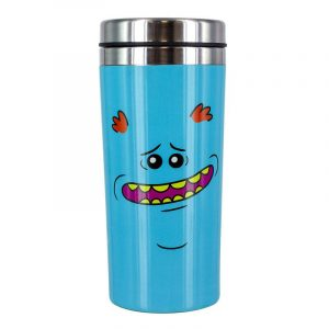 Rick & Morty Travel Mug g. Meeseeks