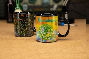 Rick & Morty Mug s Thermo Effect Portals