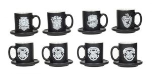 Harry Potter Espresso-Tassen 4er-Pack Emblems