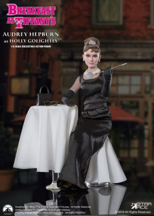Esmorzar a Tiffany MFL Action Figure 1 / 6 Holly Golightly (Audrey Hepburn) 2.0 Deluxe Veure. 29 cm
