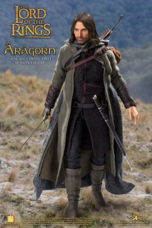 Lord of the Rings - Real Master Series Action Slika 1 / 8 Aragon Deluxe Version 23 cm