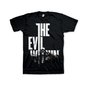 The Evil Within T-Shirt Black Text at Front
