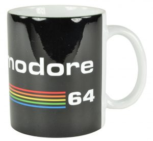 Commodore 64 Tasse Black Logo