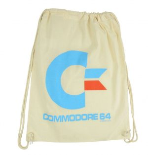 Commodore 64 Tote Bag Logotip blanc