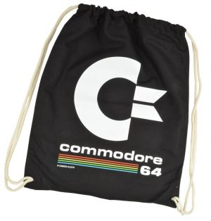 Commodore 64 Tote Bag Logotip negre