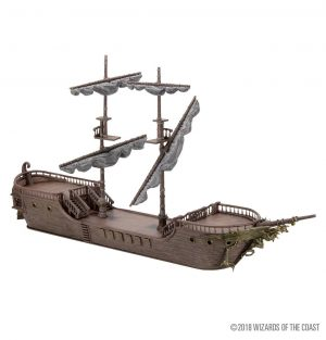 Dungeons & Dragons Icons of the Realm Miniatura The Falling Star Sailing Ship