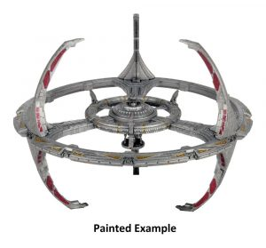 Star Trek Deep Cuts Miniatur unbemalt Nor Class Orbital Space Station