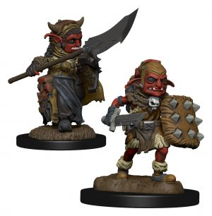 WizKids Wardlings Miniaturen Goblin (Female) & Goblin (Male) Umkarton (6)