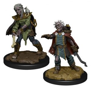 WizKids Wardlings Miniaturen Zombie (Female) & Zombie (Male) Umkarton (6)