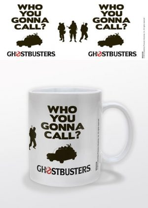Ghostbusters Tasse Logo Who You Gonna Call