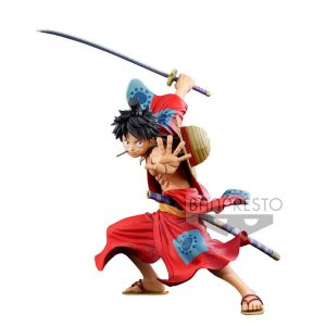 One Piece Master Stars Piece Statue PVC Monkey D.Luffy Manga Dimensions 19 cm
