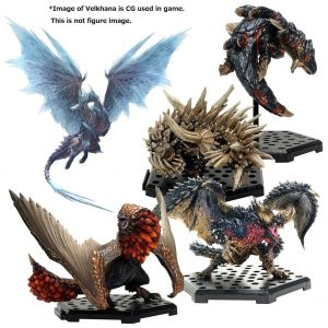 Monster Hunter Collectibles 10 - 15 cm CFB MH Standardmodell Plus Vol. 14 Sortiment (6)