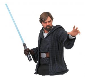 Star Wars Episode VIII mini mini doprsni kip Luke Skywalker 18 cm