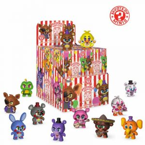 Five Nights ที่ Freddy's Pizza Simulator Mystery Minis Vinyl Minifigures 6 cm Display (12)