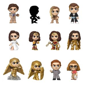 Wonder Woman 1984 Mystery Minis Vinyl Figurines 6 cm Display (12)