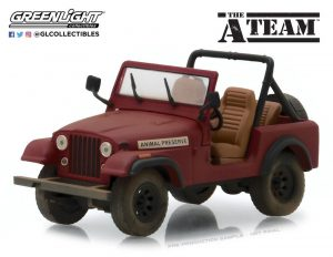 Model Hollywood A-Team Hollywood 24 Diecast 1/64 1983 Jeep CJ-7