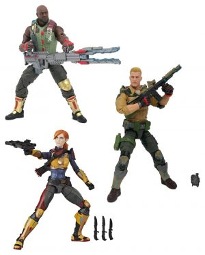G.I. Joe Classified Series Actionfiguren 15 cm 2020 Wave 1 Sortiment (6)