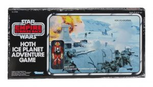 Star Wars Episode V Brettspiel mit Actionfigur Hoth Ice Planet Adventure Game *Englische Version*