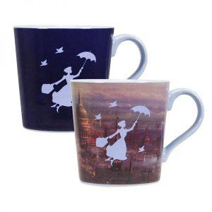 Mary Poppins Tasse mit Thermoeffekt London