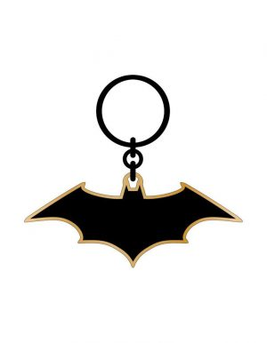 DC Comics kovinski ključek Batman Rebirth Logotip