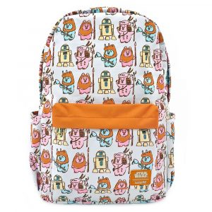 Star Wars by Loungefly Backpack Pastel Ewoks AOP