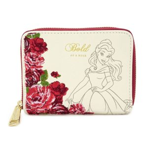 Beauty and the Beast par Loungefly Wallet Flowers