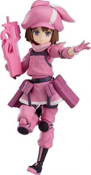Sword Art Online Alternative: Gun Gale Online Figma Actionfigur Llenn 12 cm