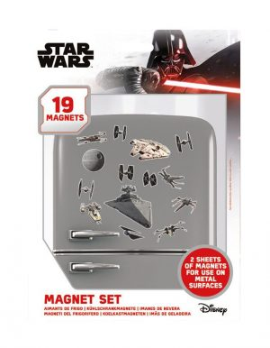 Magneti Star Wars so postavili Death Star Battle