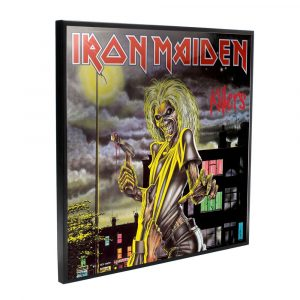 Iron Maiden Crystal Clear Picture Wanddekoration Killers 32 x 32 cm