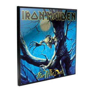 Iron Maiden Crystal Clear Picture Wanddekoration Fear of the Dark 32 x 32 cm