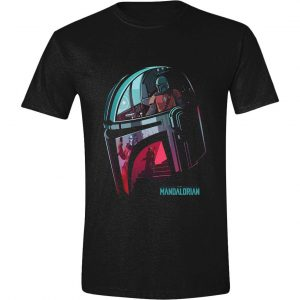 Star Wars The Mandalorian T-Shirt Reflection