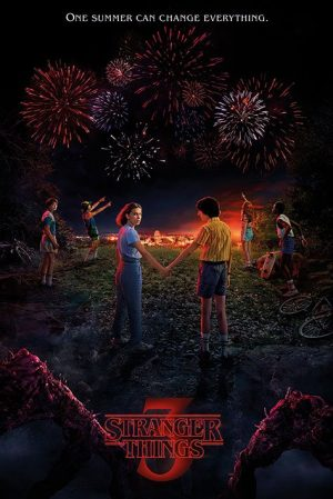 Set d'affiches Stranger Things One Summer 61 x 91 cm (5)