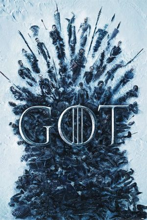 Game Thrones Poster Set Throne Of the Dead 61 x 91 սմ (5)