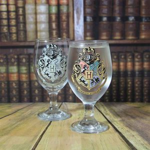 Harry Potter Hogwarts Color Changing Glass