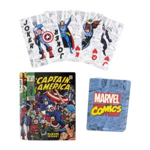 Marvel playing cards cartes de còmics