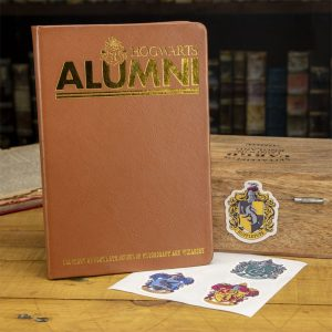 Harry Potter Notizbuch & Sticker Set Alumni