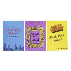 Friends 3-Pack Phrases Notebooks