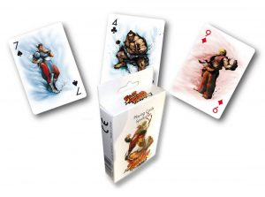 Personnages de cartes à jouer Street Fighter
