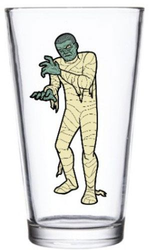 Universal Monsters Glass The Mummy